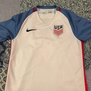 Nike USMNT soccer jersey